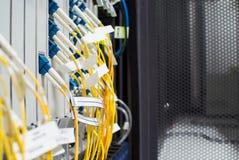 Кабельная сеть оптического волокна другое Способный получать - tra Стоковое Изображение