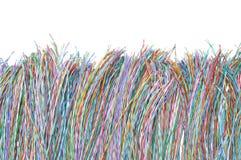 Кабельная сеть, соединение глобальной вычислительной сети Стоковое фото RF