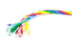 Кабель интернета Стоковая Фотография RF