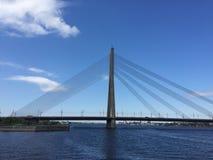 кабель моста остался Стоковое Изображение