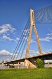 кабель riga моста Стоковые Фотографии RF