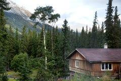 Кабина в Британской Колумбии стоковое фото rf