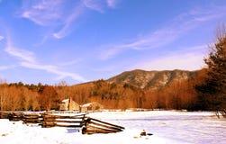 Кабина в горах Стоковое фото RF