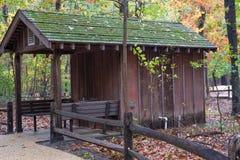 Кабина в древесинах Стоковая Фотография RF
