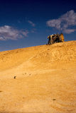 Кабина в пустыне Стоковое фото RF