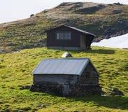 Кабина горы Стоковая Фотография RF