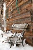 кабина деревенская Стоковое Изображение