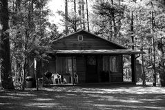 кабина деревенская Стоковая Фотография RF