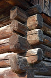 кабина деревянная Стоковая Фотография