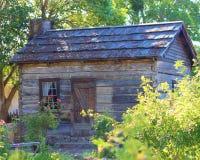 кабина деревенская Стоковая Фотография