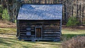 Кабина листов, голубой бульвар Риджа, Северная Каролина, США Стоковые Фотографии RF