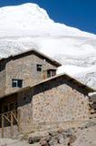 Кабина на горе Стоковое Фото