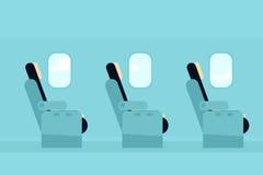 Кабина пассажира воздушных судн Стоковое Изображение