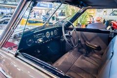 Кабина роскошного Cabriolet 2050 Hotchkiss Анжу автомобиля Worblaufen, 1950 Стоковое фото RF