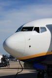 кабина самолета Стоковое Изображение