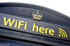 Кабина телефона WiFi Стоковое Изображение