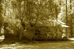 кабина 4 деревенская Стоковая Фотография RF