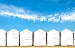 кабины пляжа Стоковое Изображение RF