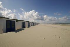 кабины пляжа Стоковые Изображения RF