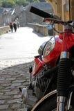 Кавасаки 350 в Dinan Франции стоковое фото rf