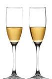 Кава шампанское стоковая фотография rf