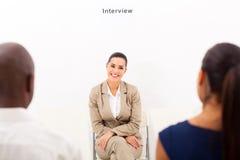 Опрос о возможностях занятости Стоковое фото RF