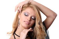 кавказская сексуальная женщина Стоковые Изображения RF