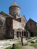 Кавказские горы в Армении Монастырь Tatev стоковое изображение rf