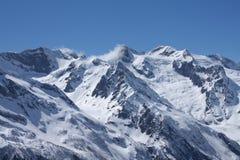 кавказские горы стоковое изображение rf