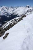 кавказские горы стоковые изображения rf