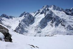 кавказские горы Стоковые Фото