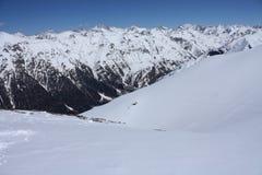 кавказские горы Стоковая Фотография RF