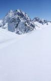 кавказские горы Стоковая Фотография