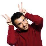 кавказские уши укомплектовывают личным составом кролика Стоковые Фото