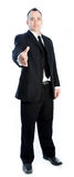 Кавказский бизнесмен 40 лет Стоковые Фотографии RF