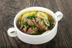 Кавказский суп мяса - Hashlama Стоковое Фото