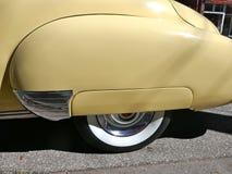 Кадиллак, американский автомобиль 1940s, моделирует йогу Циновку 62 Coupe, 1947 Редкость Гамбург, Германия Стоковые Изображения RF