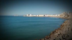 Кадис на seashore акции видеоматериалы