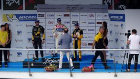 КАДИС - 28-ОЕ МАЯ: Формула V8 3 отборочных матчей чемпионата мира 5 на Jerez de Ла Передн акции видеоматериалы