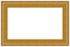 кадр 15 золотистый Стоковое Изображение RF