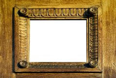 кадр 2 деревянный Стоковая Фотография