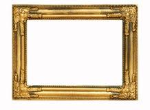 кадр 4 золотистый Стоковое Фото