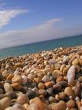 каек пляжа Стоковое Изображение