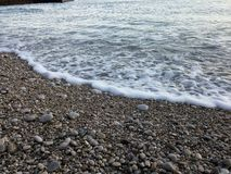 каек пляжа Стоковое фото RF