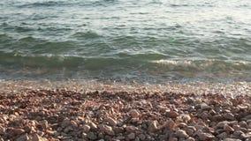 каек пляжа видеоматериал