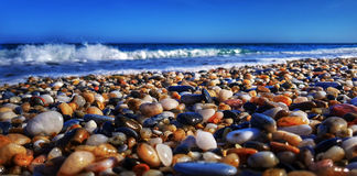 каек пляжа Стоковые Фото