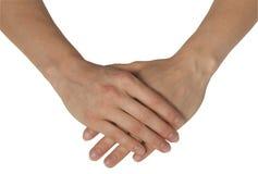 каждо женственные руки другое Стоковые Фото