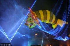 Каждогодный большой парад драконов Стоковая Фотография