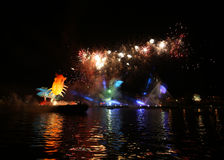 Каждогодный большой парад драконов Стоковое фото RF