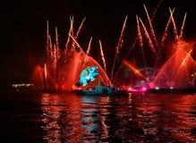 Каждогодный большой парад драконов Стоковые Изображения